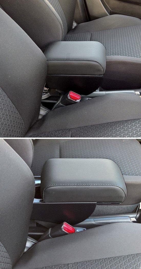 Adjustable armrest with storage for Suzuki Swift (2017>) 6th series mittelarmlehne