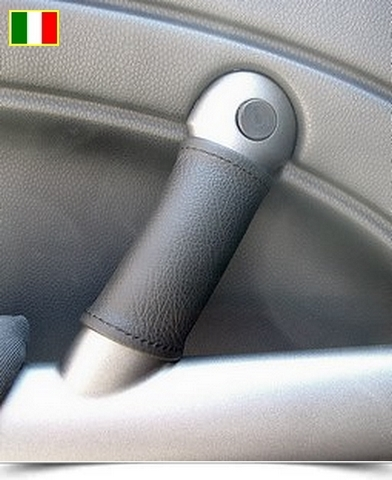 Coppia coprimaniglie in vera pelle per New Mini (2001-2006)