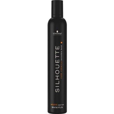 Безупречный мусс Schwarzkopf Professional SILHOUETTE Super Hold ультрасильной фиксации 500мл