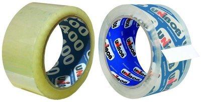 Скотч Unibob (Юнибоб) 400 Прозрачная или 600 Кристально-чистая 48мм*66м