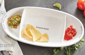 Fiesta Chip And Dip Set