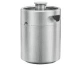 Man Gear Stainless Steel Flask / Growler
