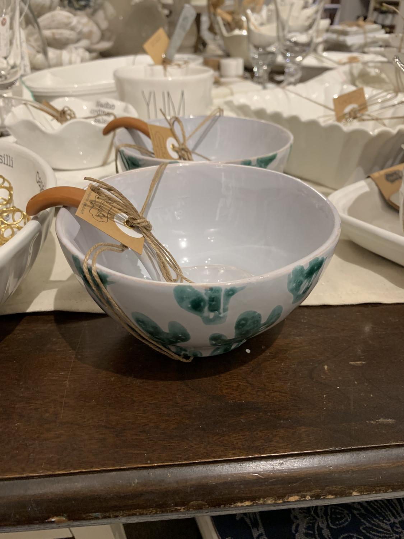 Cactus Salsa Bowl Set