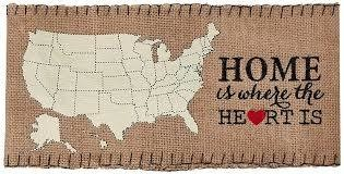 Home Is Where The Heart Is Pillow Wrap