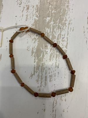 Baby Teether Necklace Hazelwood 12 Inch