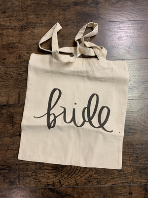 PCB Bride Canvas Tote
