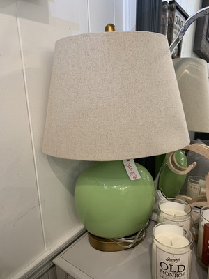 Apple Green Table Lamps