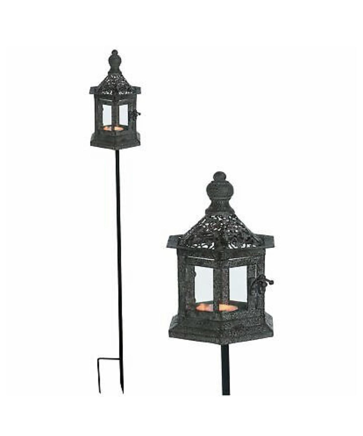 Outdoor Lantern On Stand