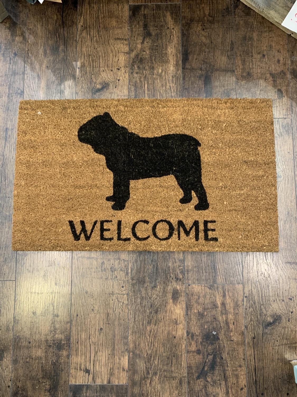 Bulldog Door Mat