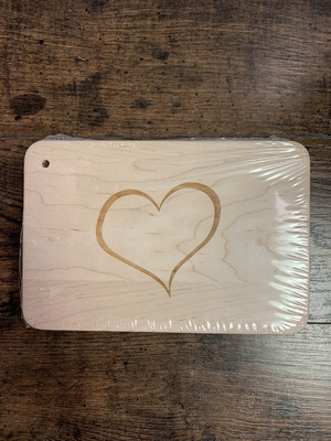 Heart Small Cutting Board