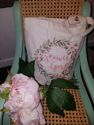 Flower Girl Tiny Tote