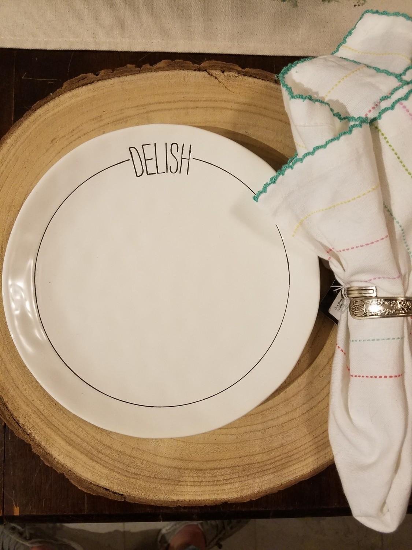 Delish Salad Plate