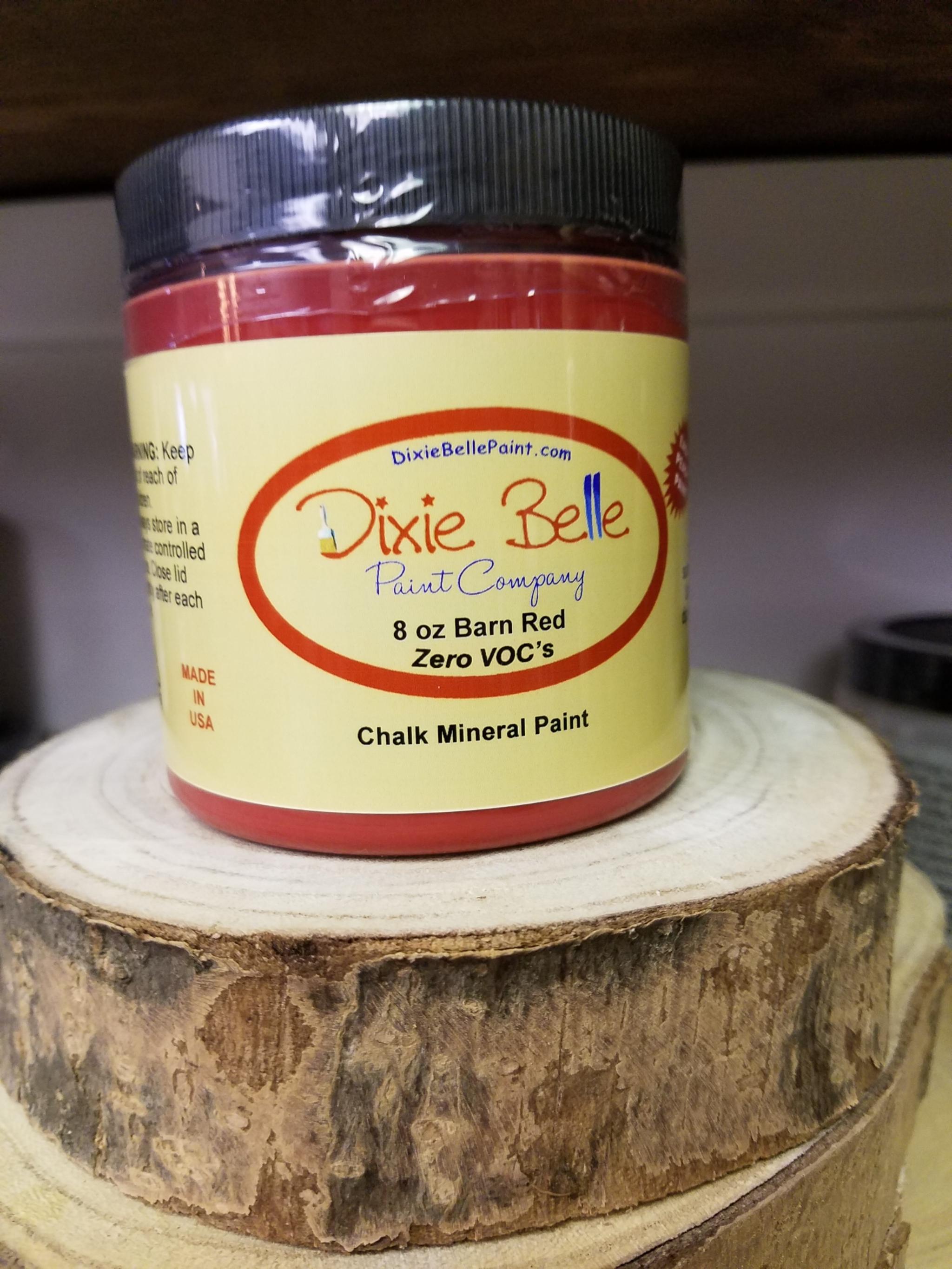 Dixie Belle Barn Red Paint 8oz 815146020009