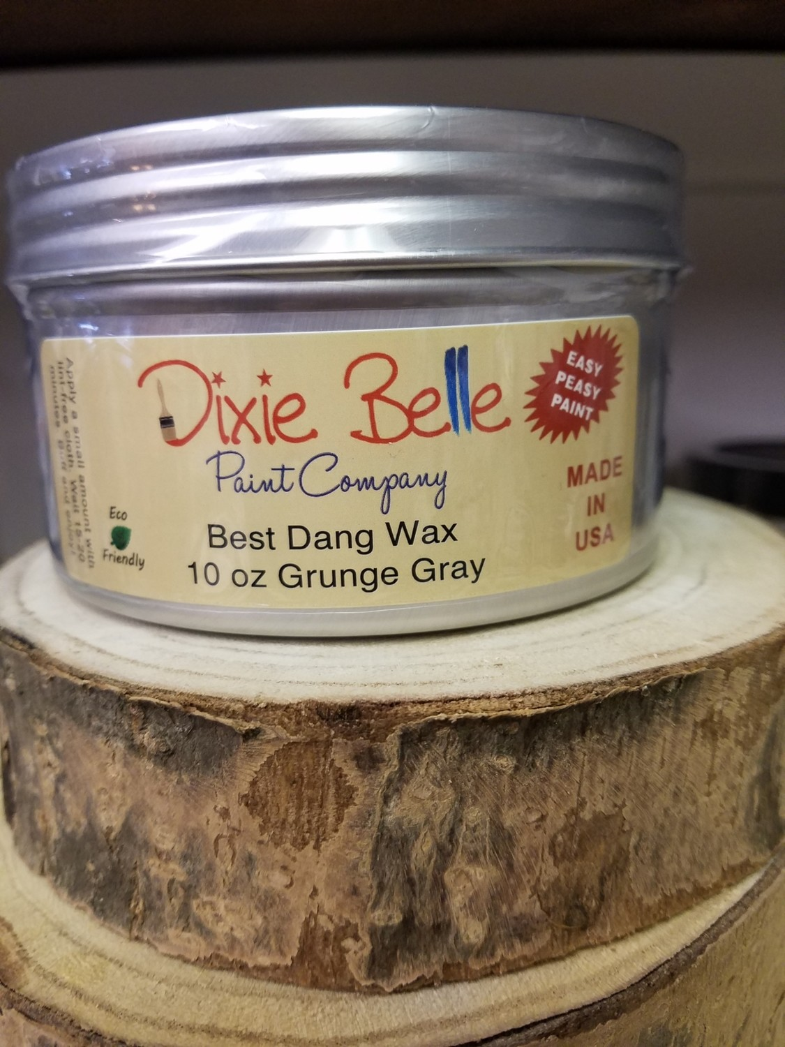 Dixie Belle Best Dang Wax Grunge Grey