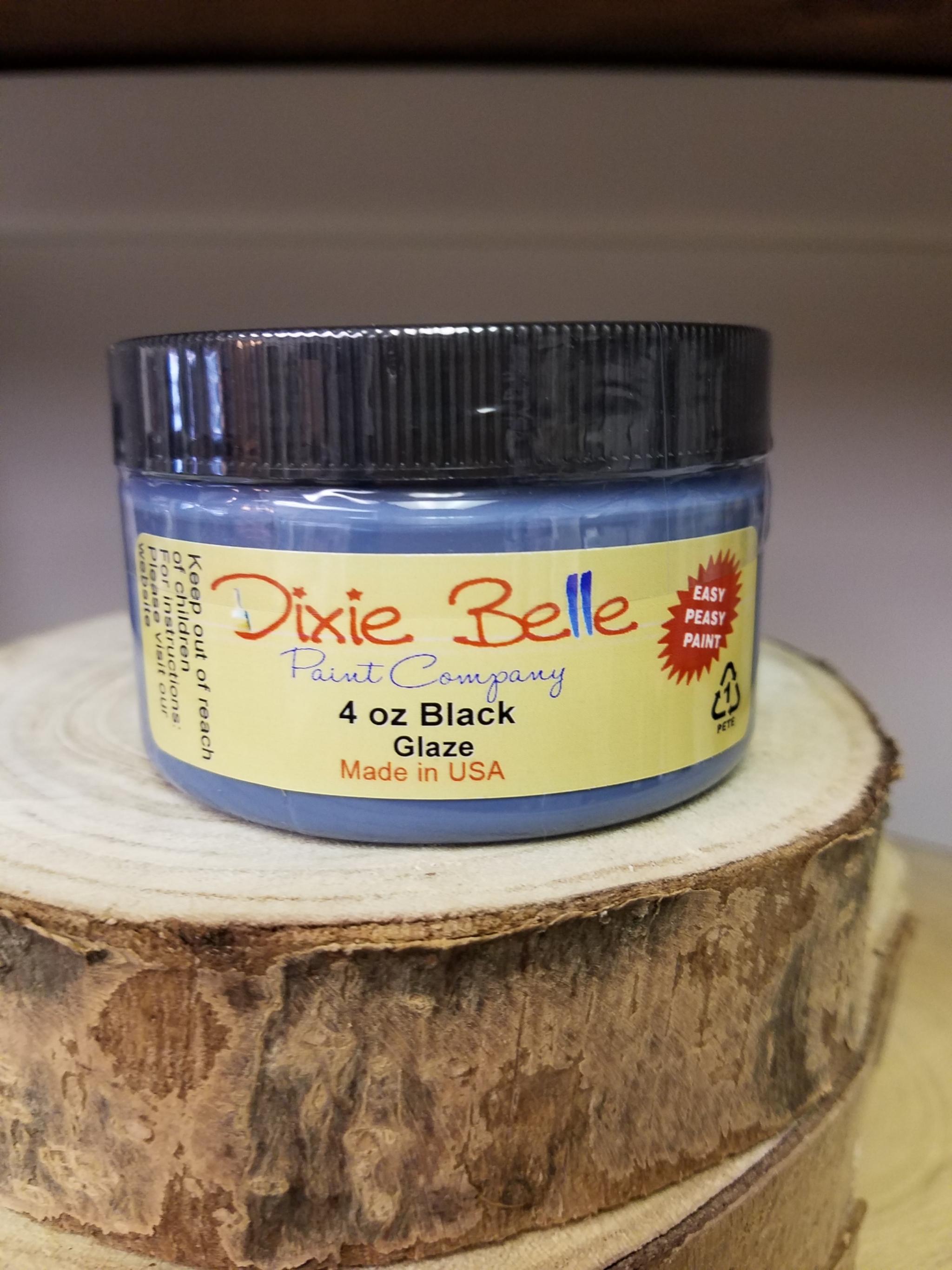 Dixie Belle Black Glaze 4 Oz 815146021112