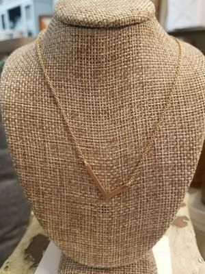 JM Initial L Necklace