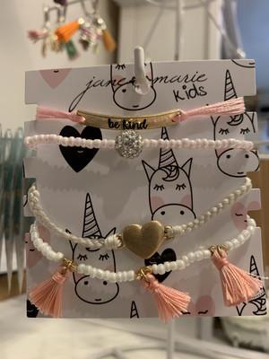 JM Kids Be Kind Bracelet Set