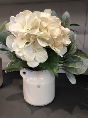 Creamer Jug With Flowers