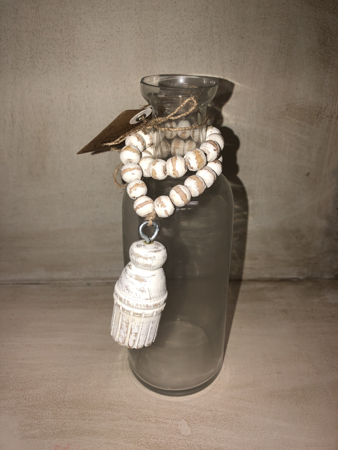 Glass With Tassel