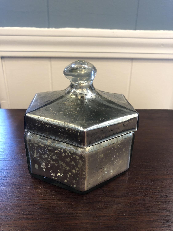 Mercury Hexagon Glass Box