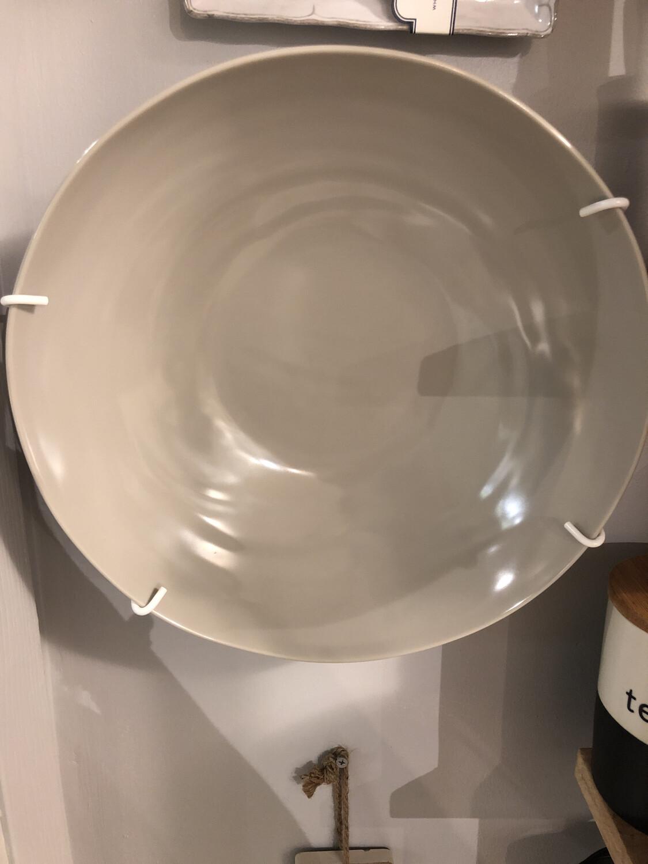 Le Cadeaux Taupe  Salad Bowl