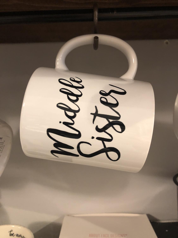 Middle Sister Coffee Mug