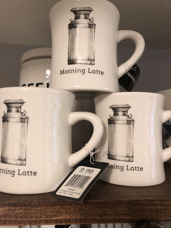 Morning Latte Ceramic Mug