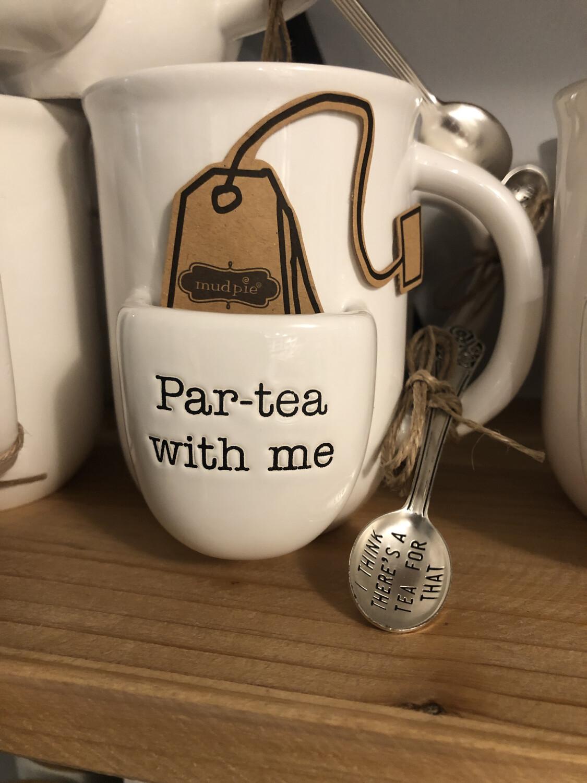 Par Tea With Me Mug
