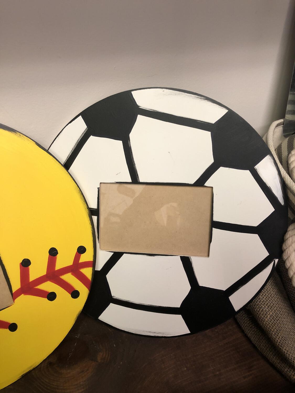 Ball Picture Frame soccer ball