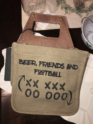 Beer Friends And Football Six Pack