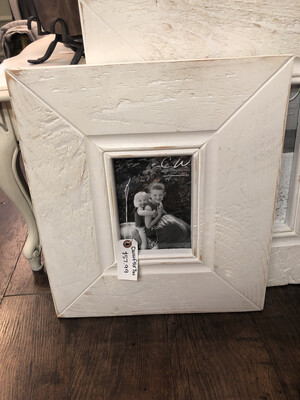 CW Wood Frame 5x7 White