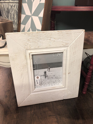 CW Wood Frame 8x10 White