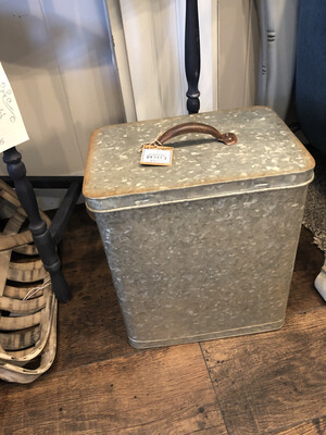 Tin Canister Box large
