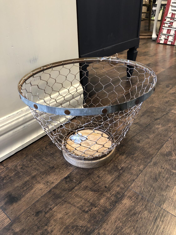 Chicken Wire Basket Large