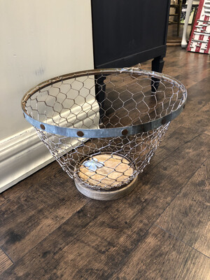 Chicken Wire Basket Large
