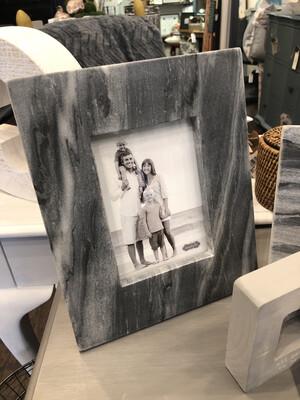 Marble Frame Grey  5x7