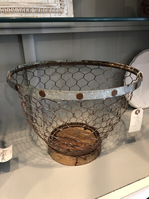 Chicken Wire Basket Small