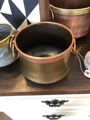 Metal Tin Pots Medium