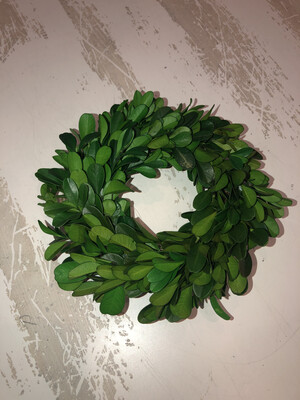 Mini Small Boxwood Wreath