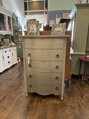 FGF Ombre Grey Tall Dresser