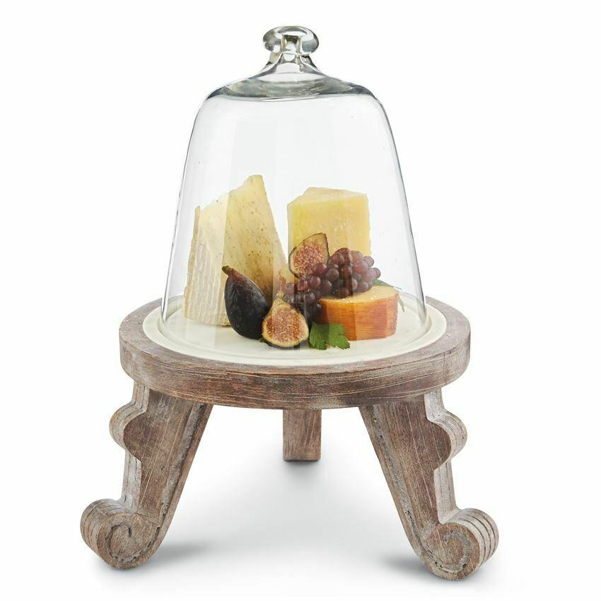 Pedestal Cloche Set