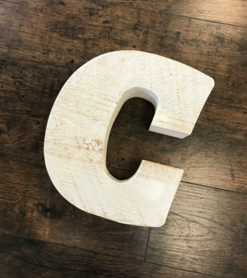 CW Chunky Letter