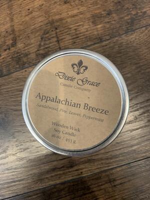 Dixie Grace Candle Appalachian Breeze 16 oz.