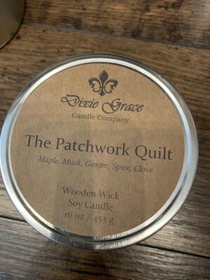 Dixie Grace Candle The Patchwork Quilt 16 oz.