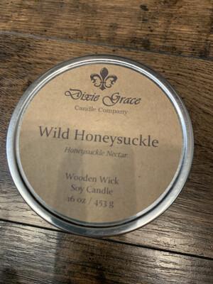 Dixie Grace Candle Wild Honeysuckle 16 oz.