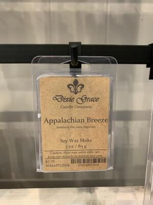 Dixie Grace Wax Melt Appalachian Breeze 3 oz.