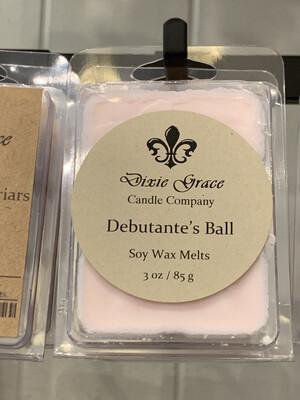 Dixie Grace Wax Melt Debutante's Ball 3 oz.