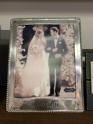 Mr. & Mrs. Silver Frame