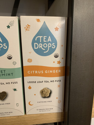Tea Drops Citrus Ginger