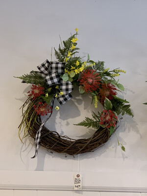 MP Black With Red And Yellow Wreath